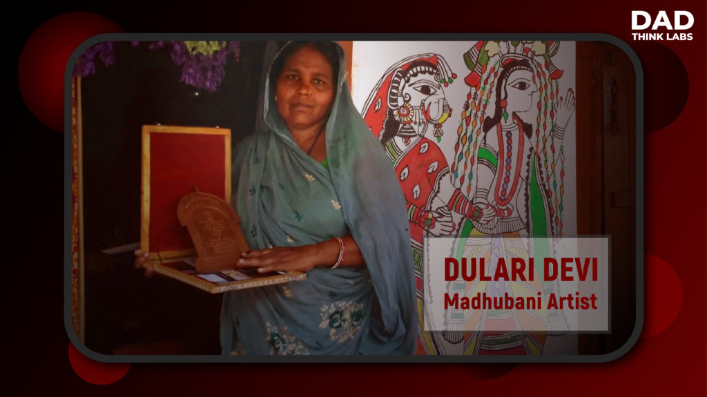Dulari devi madhubani paintings